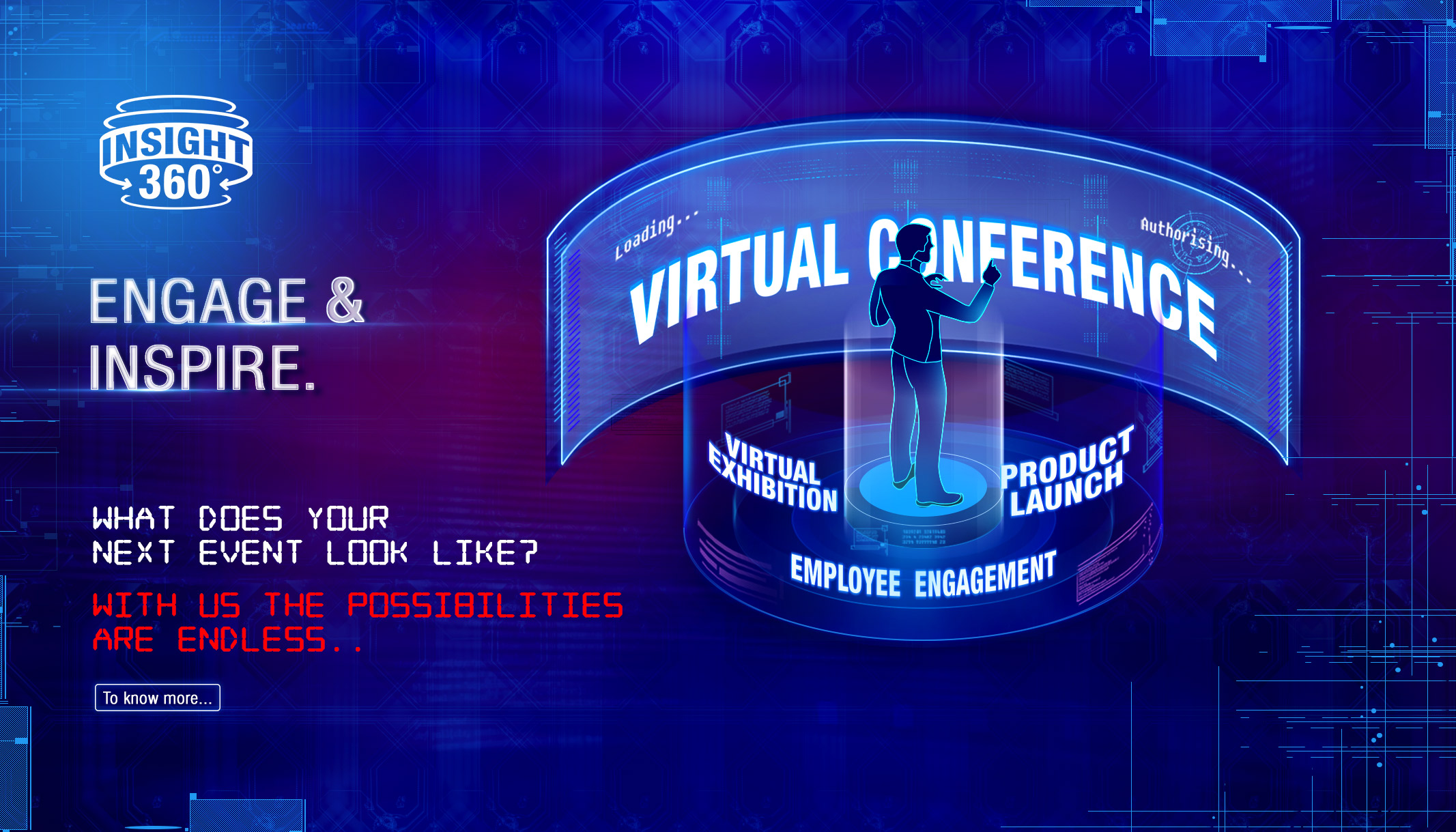 Virtual conference event companies in india